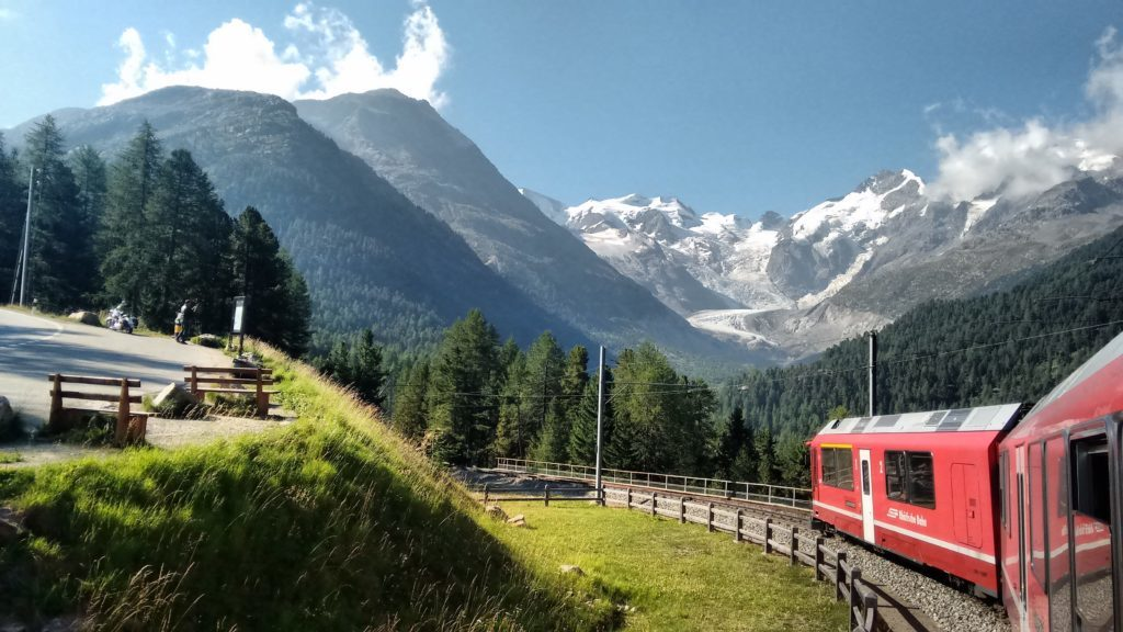 The Bernina Railway