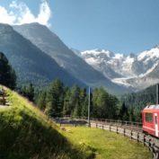 The Bernina Railway