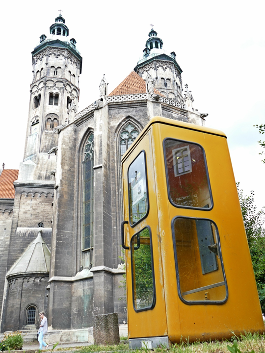 The Naumburg Cathedral vs. the Yellow Phone Booth.