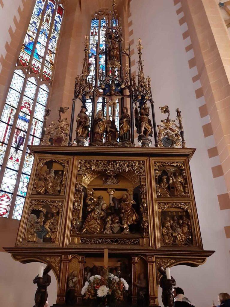 Miner's Altar, Church of St. Annen