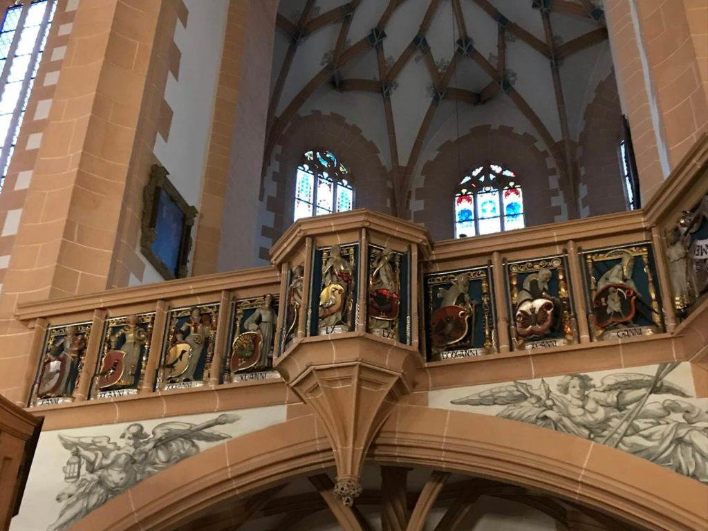 Balustrade, Church of St. Annen