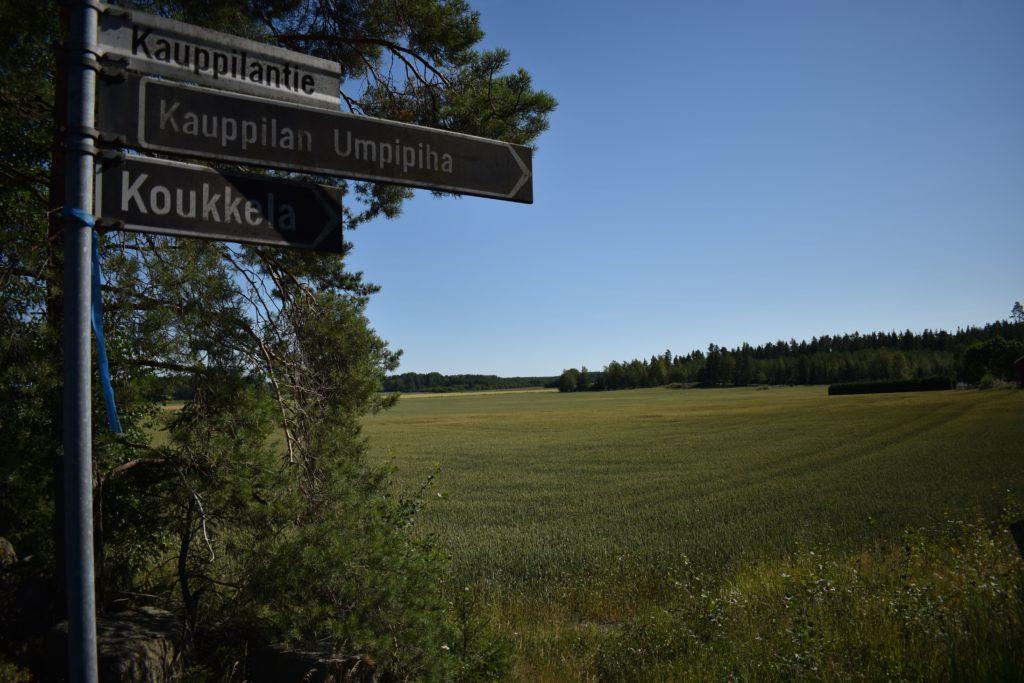 Road to Kauppilan Umpipiha