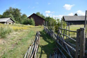 Spruce fence restoration