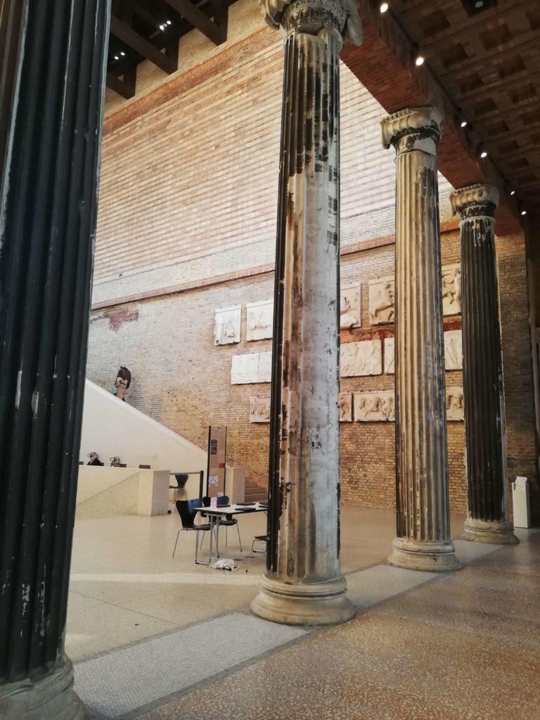 Italian marble columns