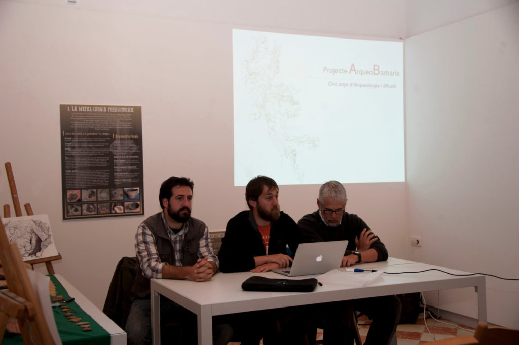 Edgard Camarós, Pau Sureda and Luis Teira, closing talk
