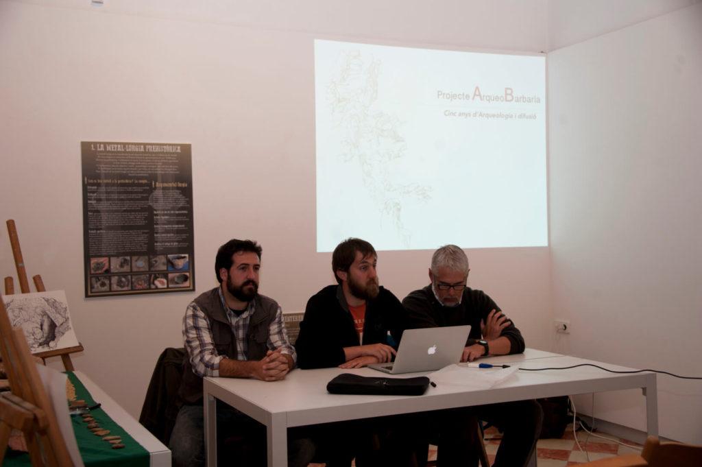 Edgard Camarós, Pau Sureda and Luis Teira, closing talk