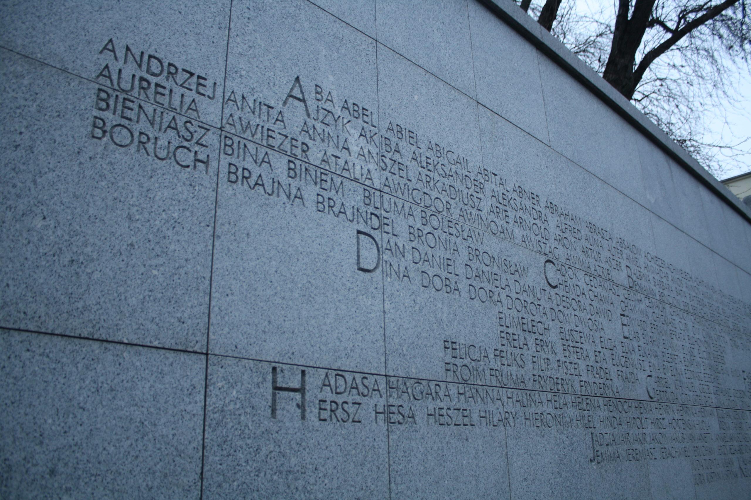 Umschlagplatz memorial, Warsaw