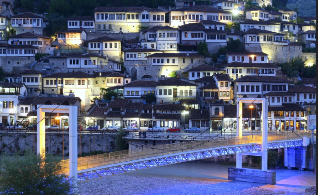 Berat: the city of one thousand and one windows