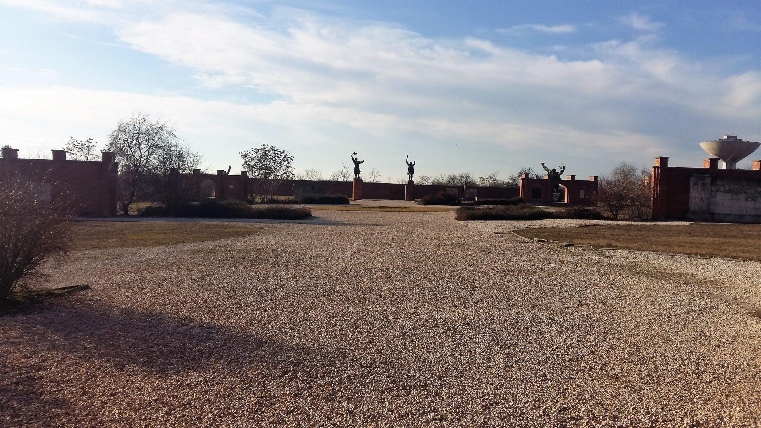 Soviet monuments Memento Park Budapest