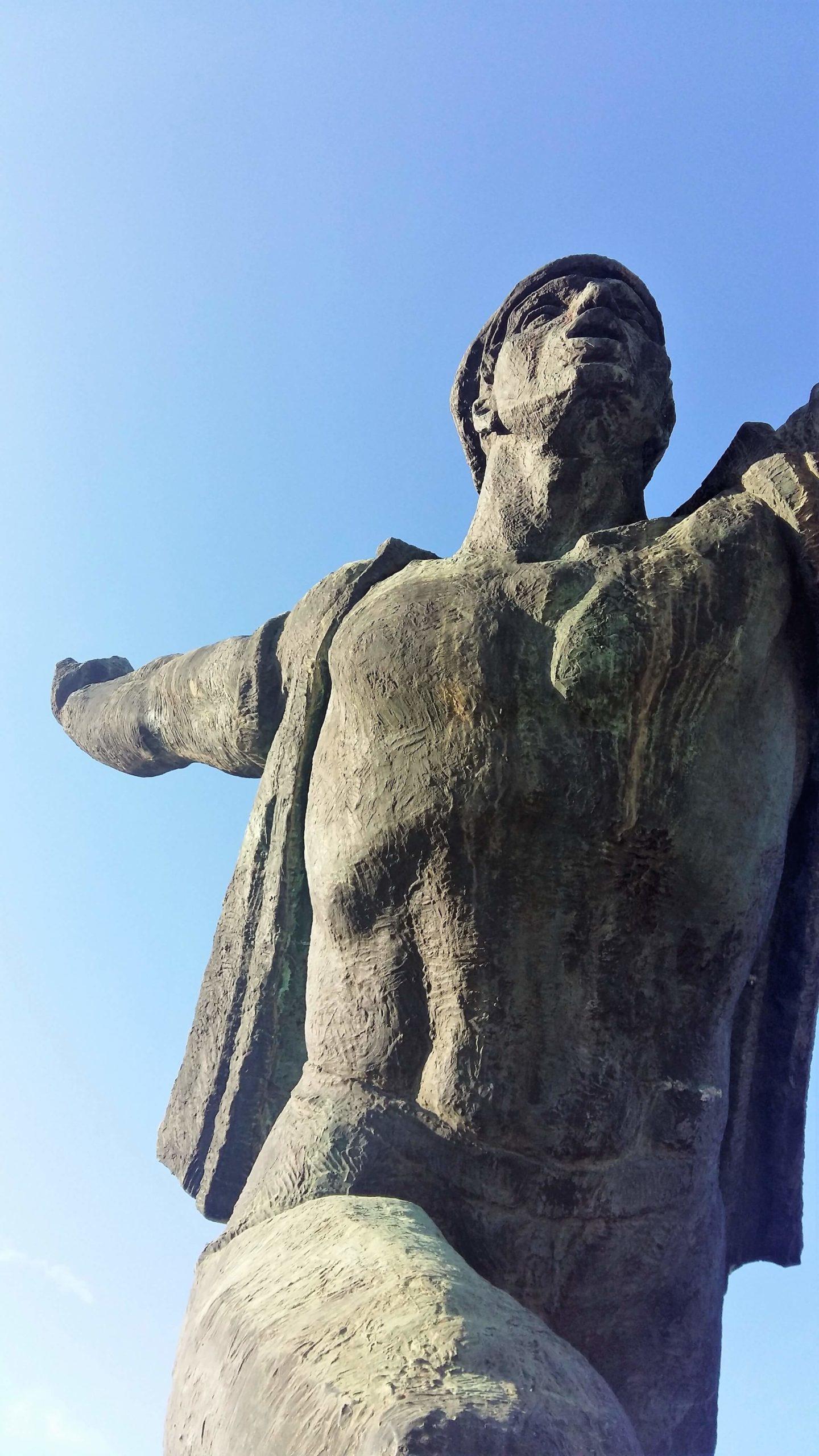 Memento Park monument