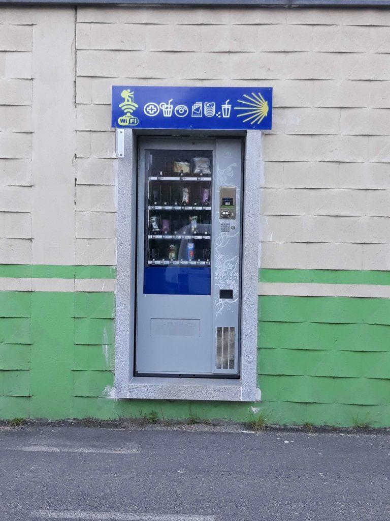 Vending Machine for pilgrims