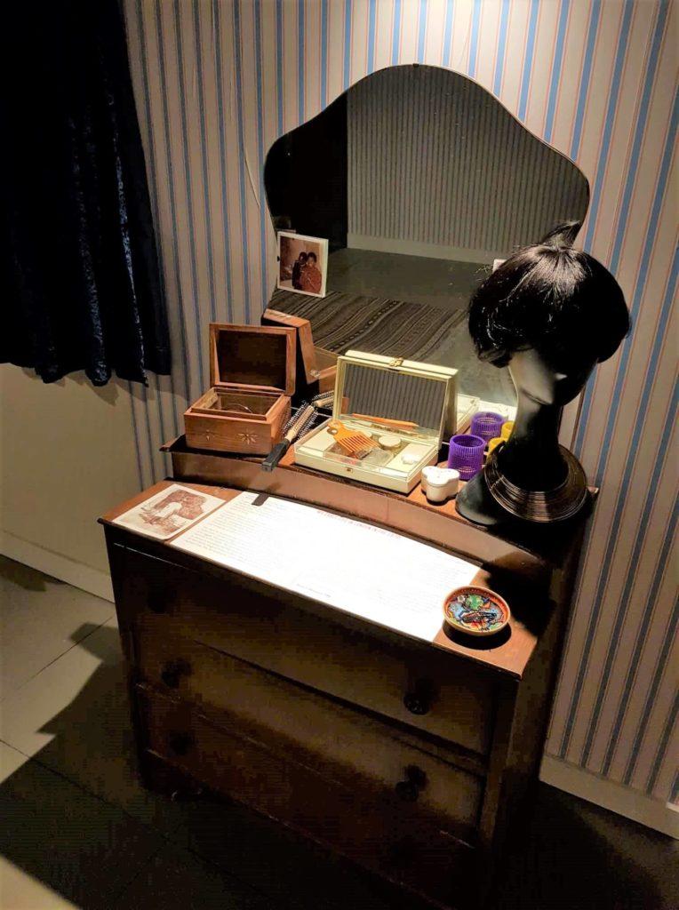 dressing table Migration Museum London