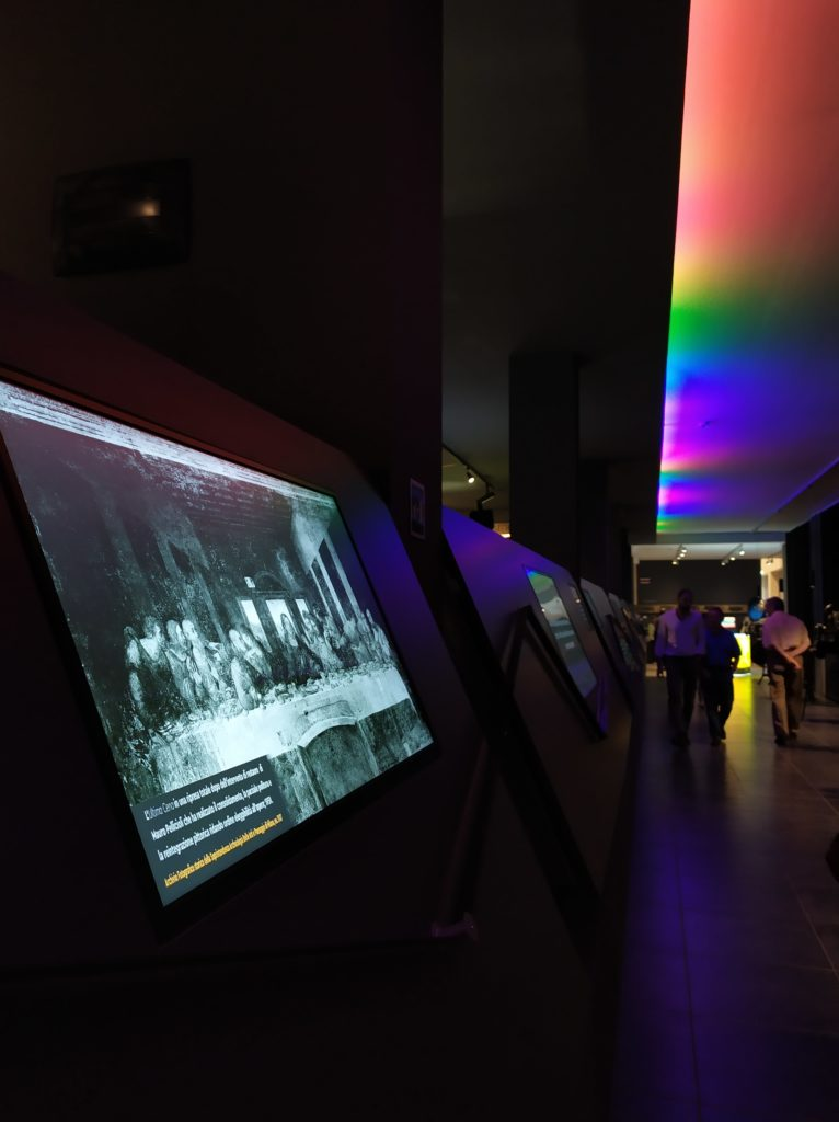 A digital version of the exhibition at the MIC, Milan