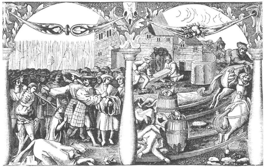 Stockholm Bloodbath, commissioned by Gustav Vasa