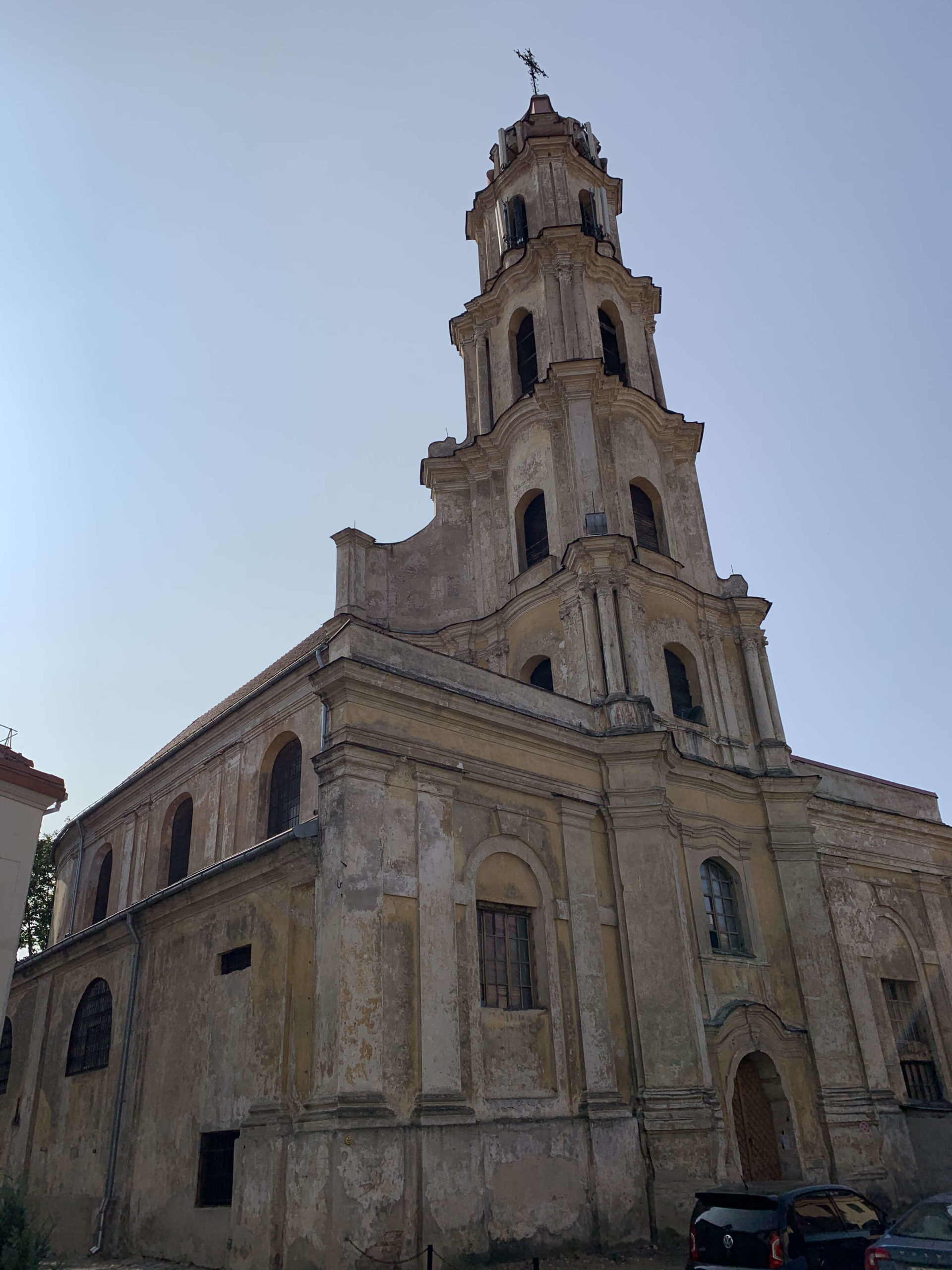 Church of the Blessed Virgin Mary of Consolation in Vilnius