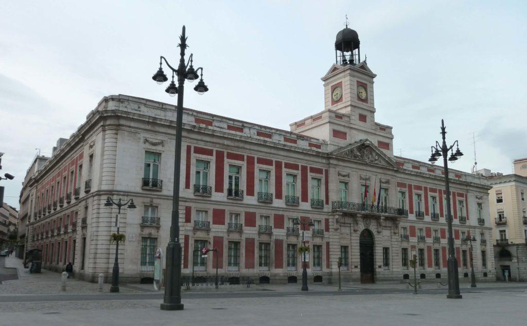 Sede del congreso regional de Madrid