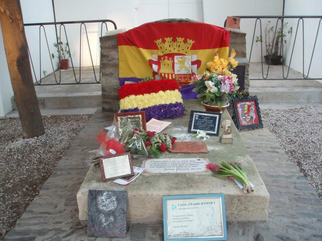 Antonio Machado Tomb