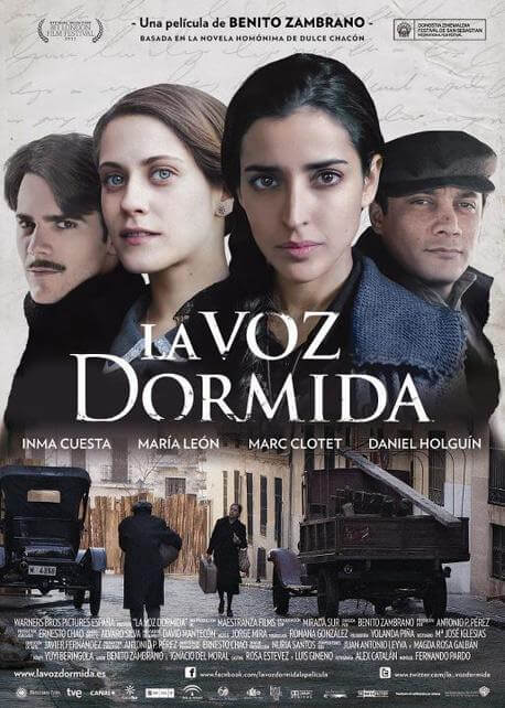 "Poster of the movie ""La Voz dormida"""