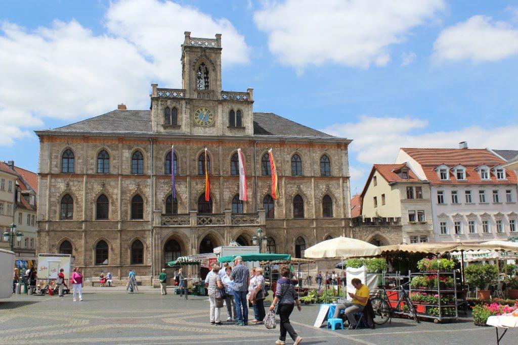Weimar's Rathaus