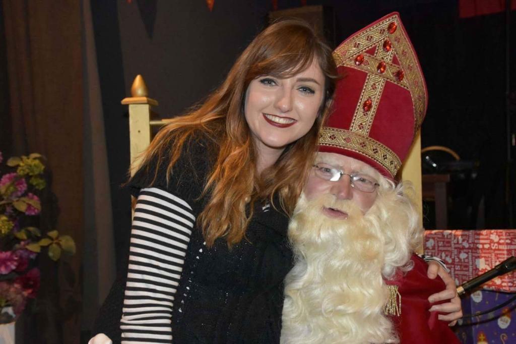 Lorna and Sinterklaas
