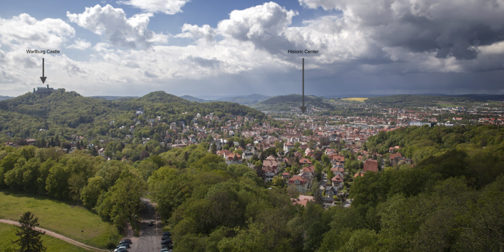 Eisenach, a city of music and inspiration…