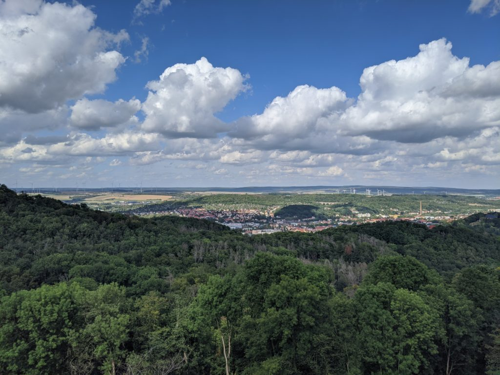 View from Wartburg Castle