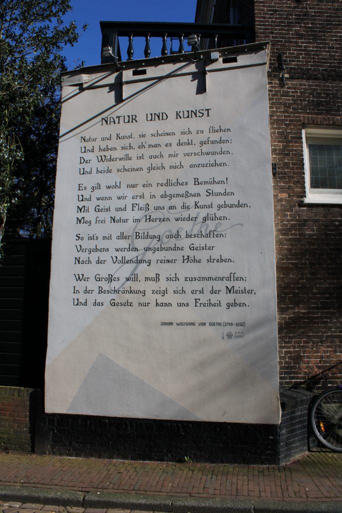 Poem by J.W. von Goethe