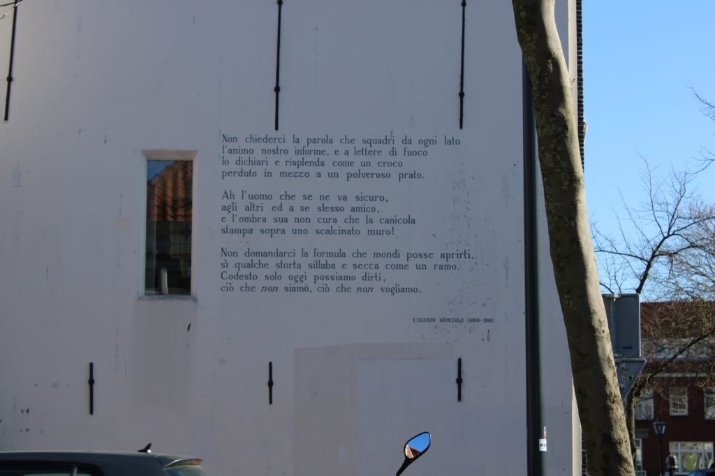Poem by E. Montale