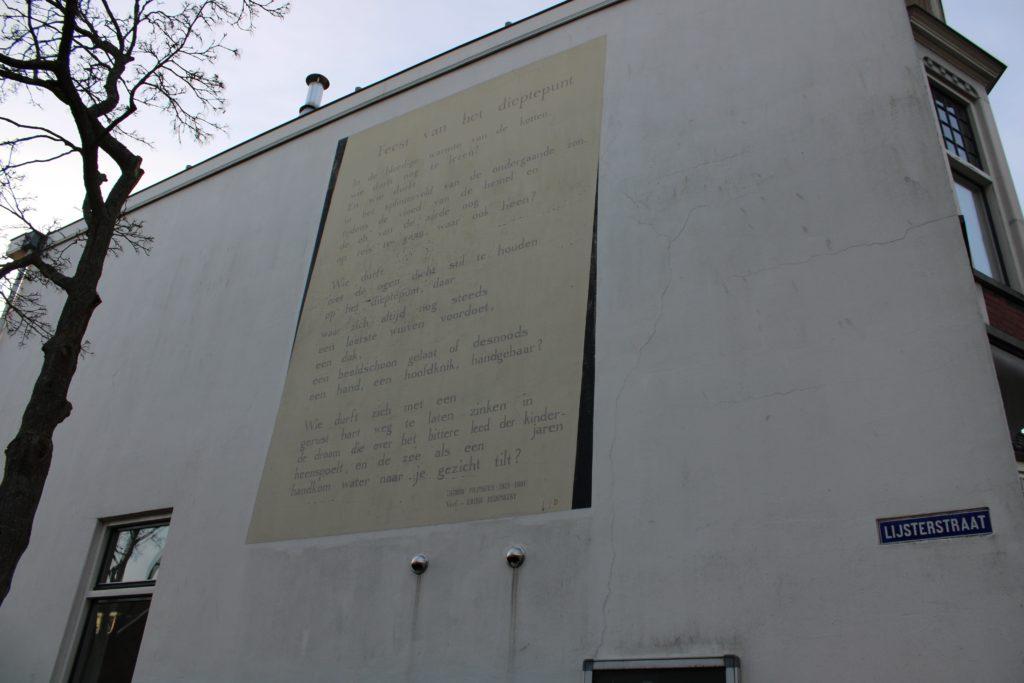 Poem by J. Pilinszky (translated in Dutch)
