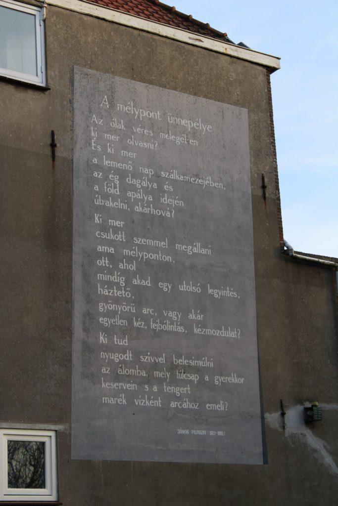 Poem by J. Pilinszky