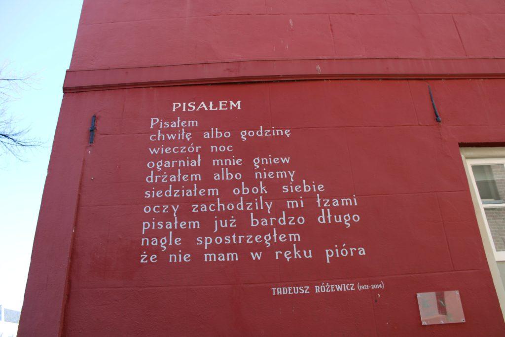 Poem by T. Rózewicz
