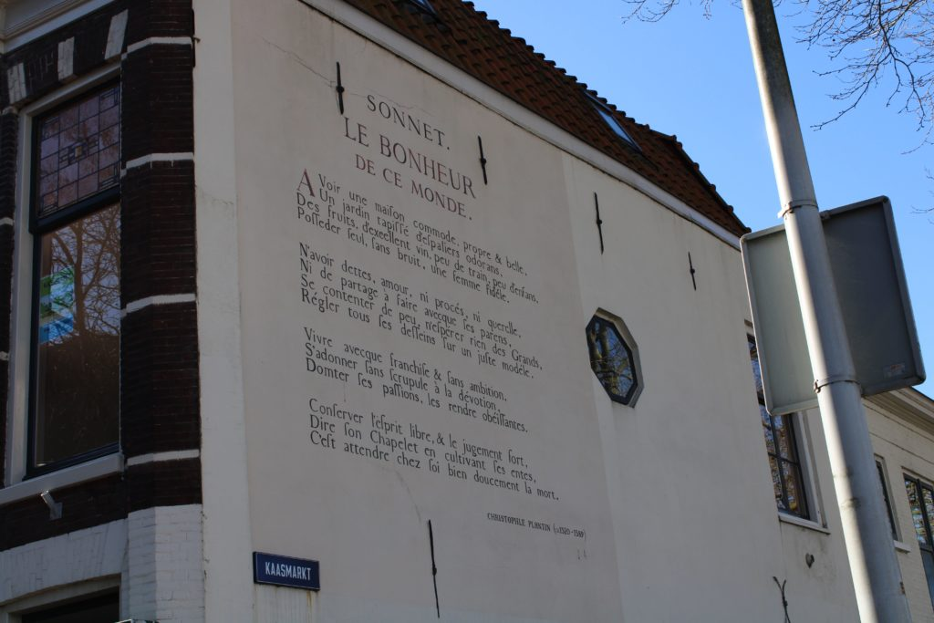 Poem by C. Plantin