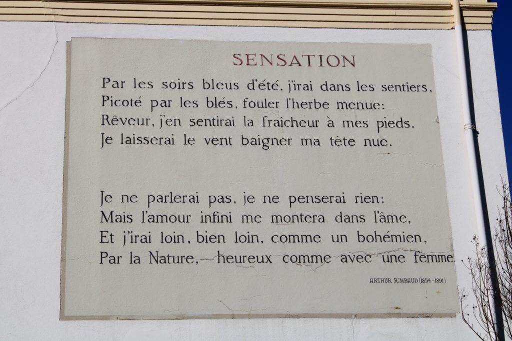Poem by A. Rimbaud