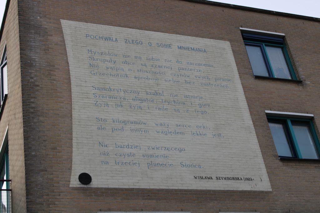 Poem by W. Szymborska