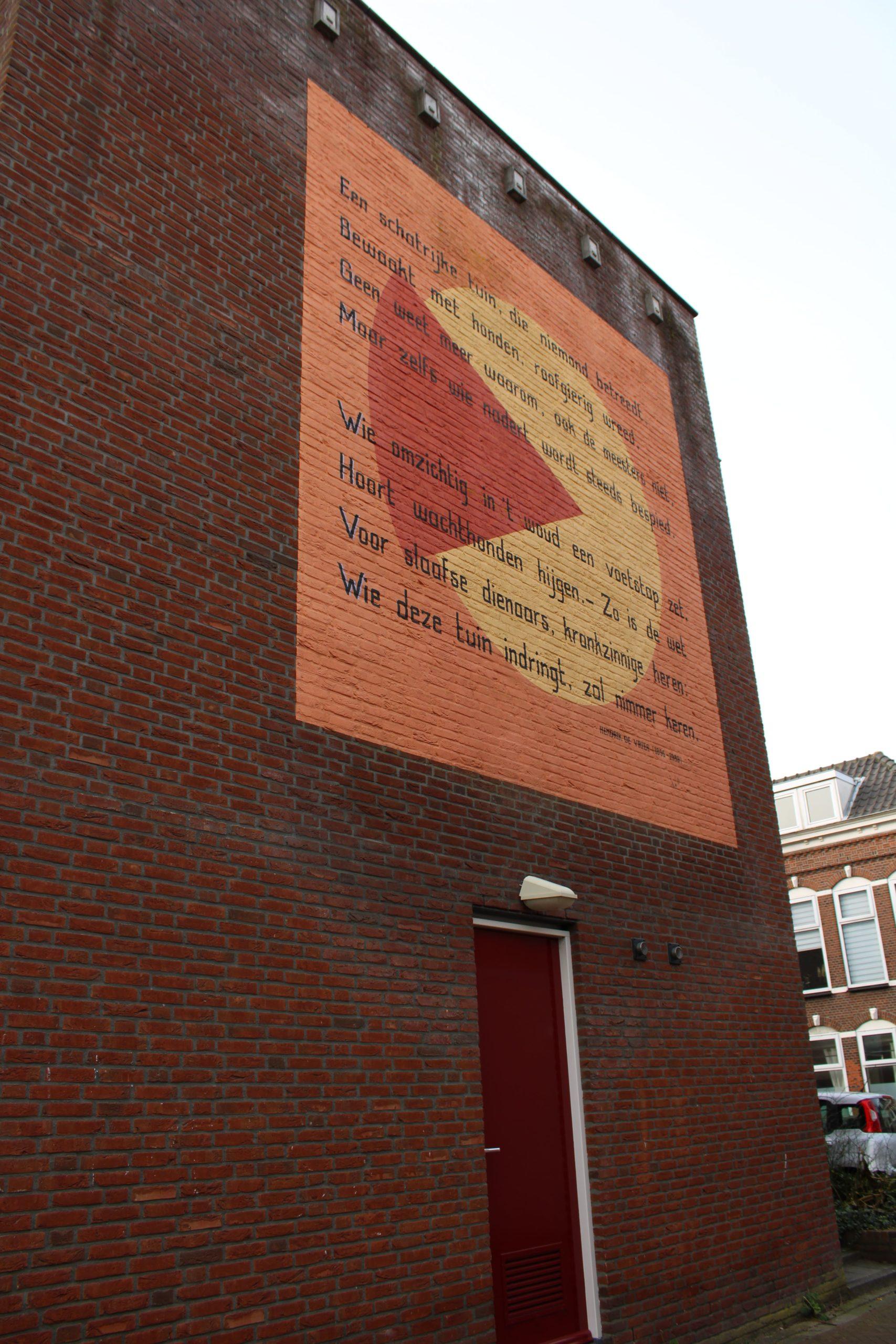 Poem by H. de Vries