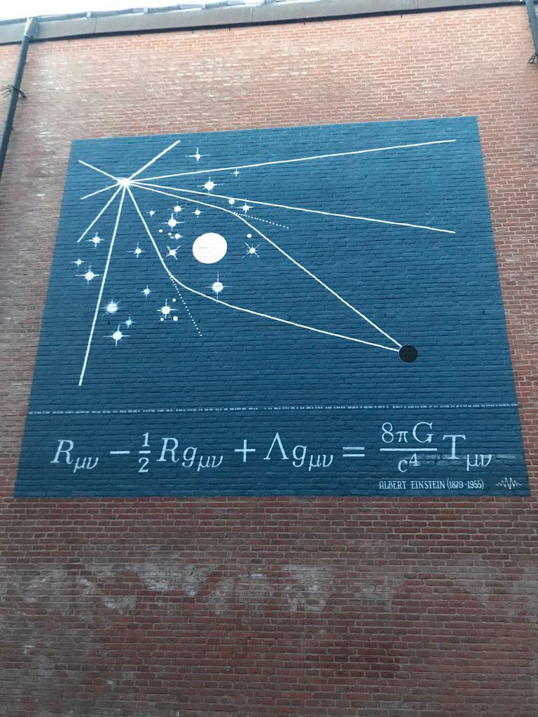 Formula by A. Einstein