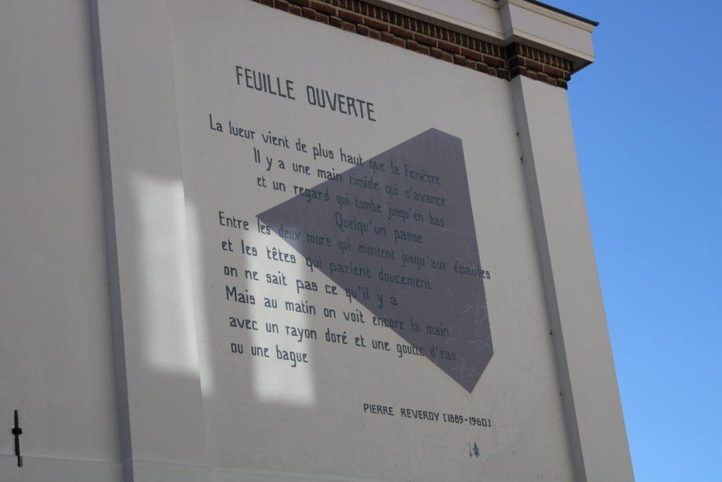 Poem by P. Reverdy