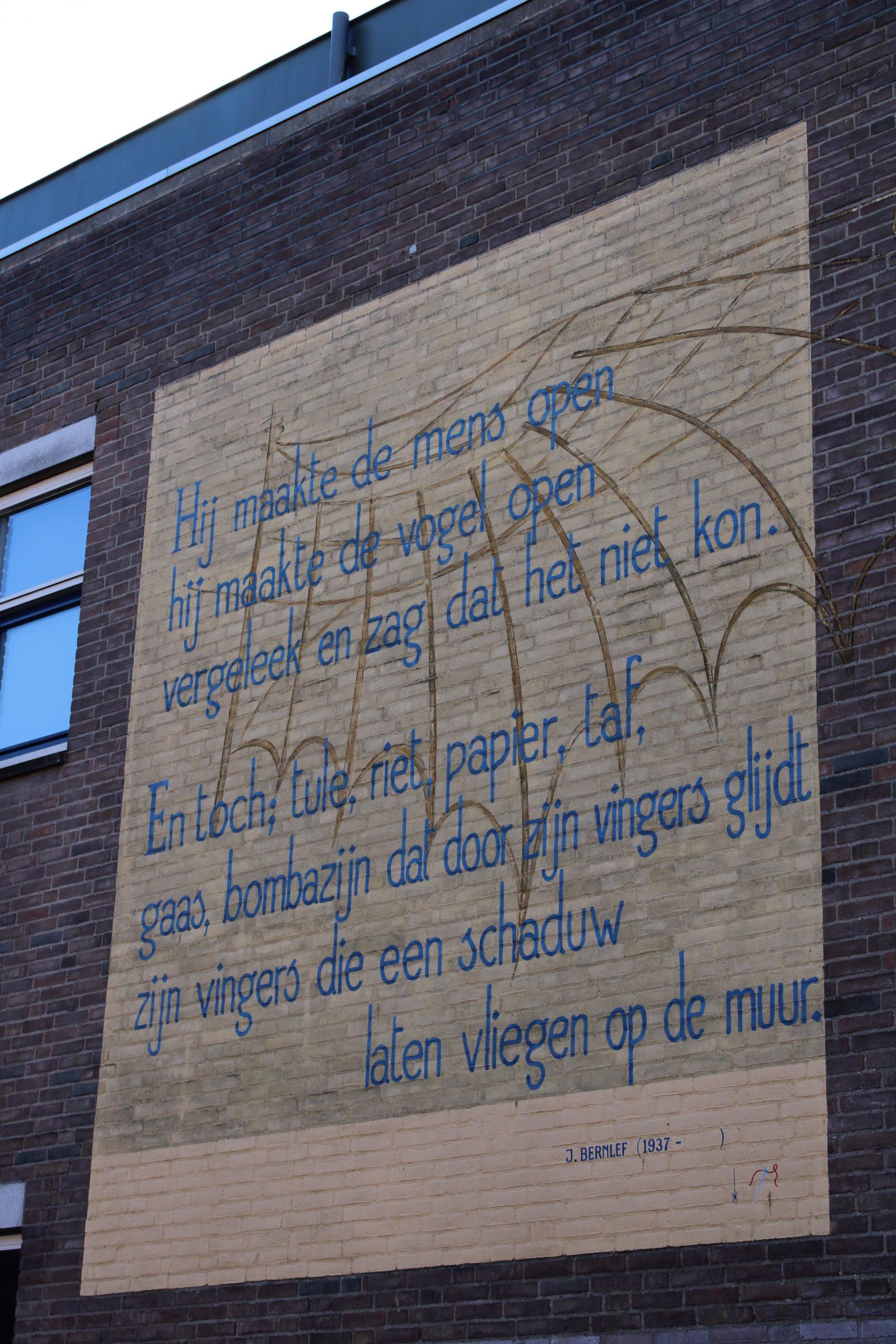 Poem J. Bernleef