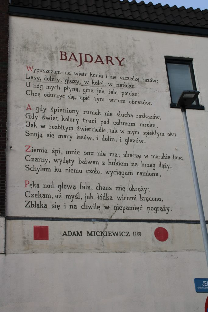 Poem by A. Mickiewicz