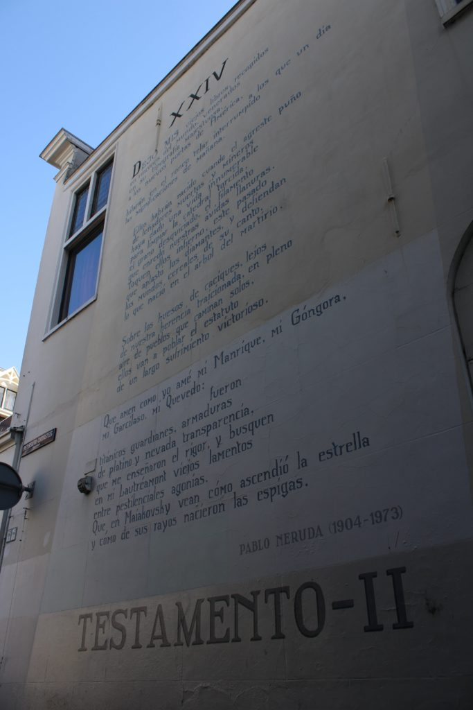 Poem by P. Neruda