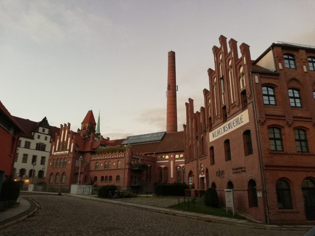 The power stations near Uferstrasse today