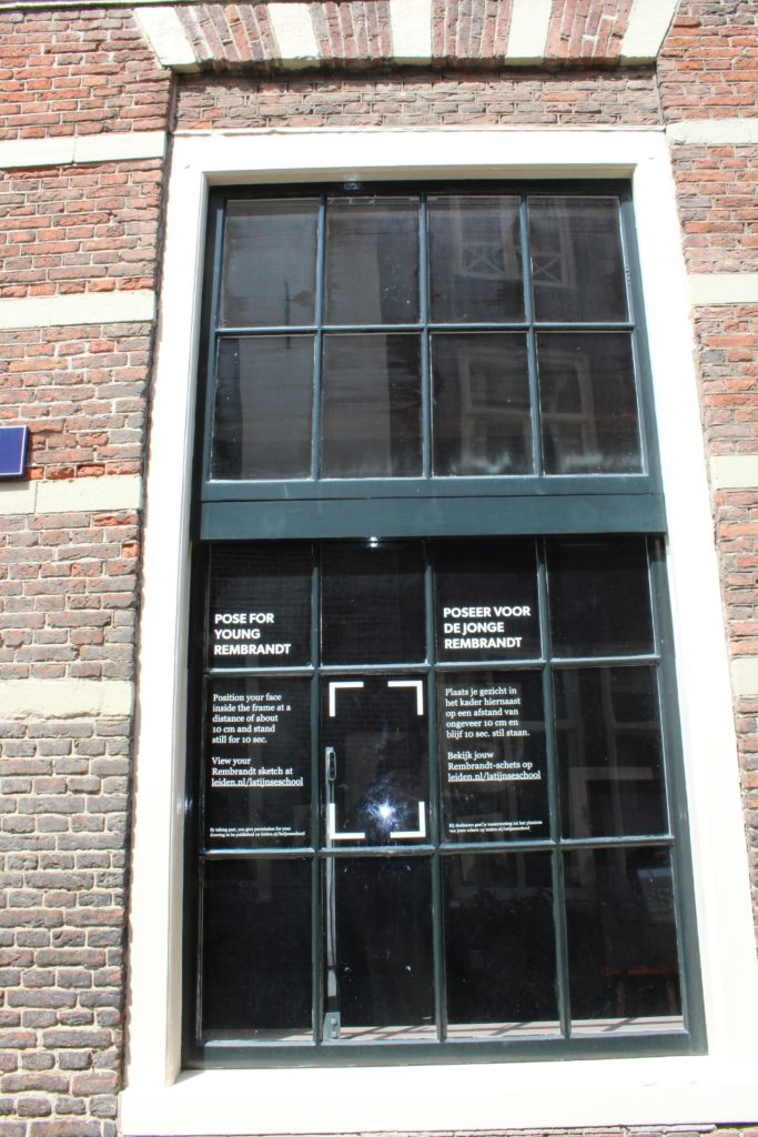 Window at Rembrand't workshop