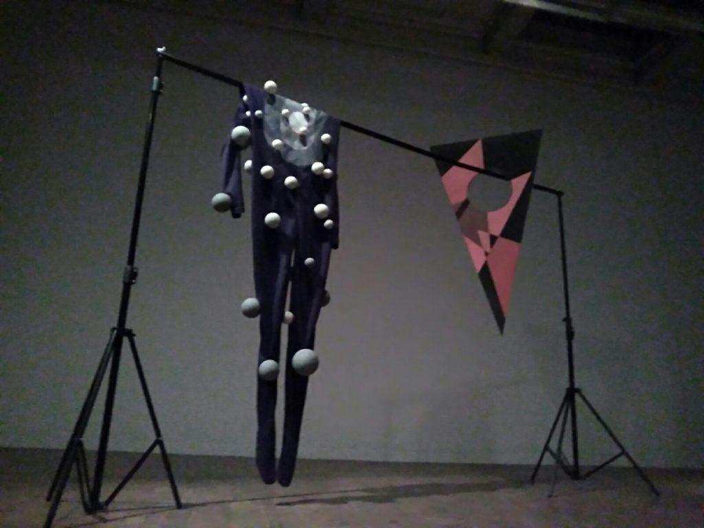 "Original costume on the exhibition ""100 Jahre Bauhaus"""
