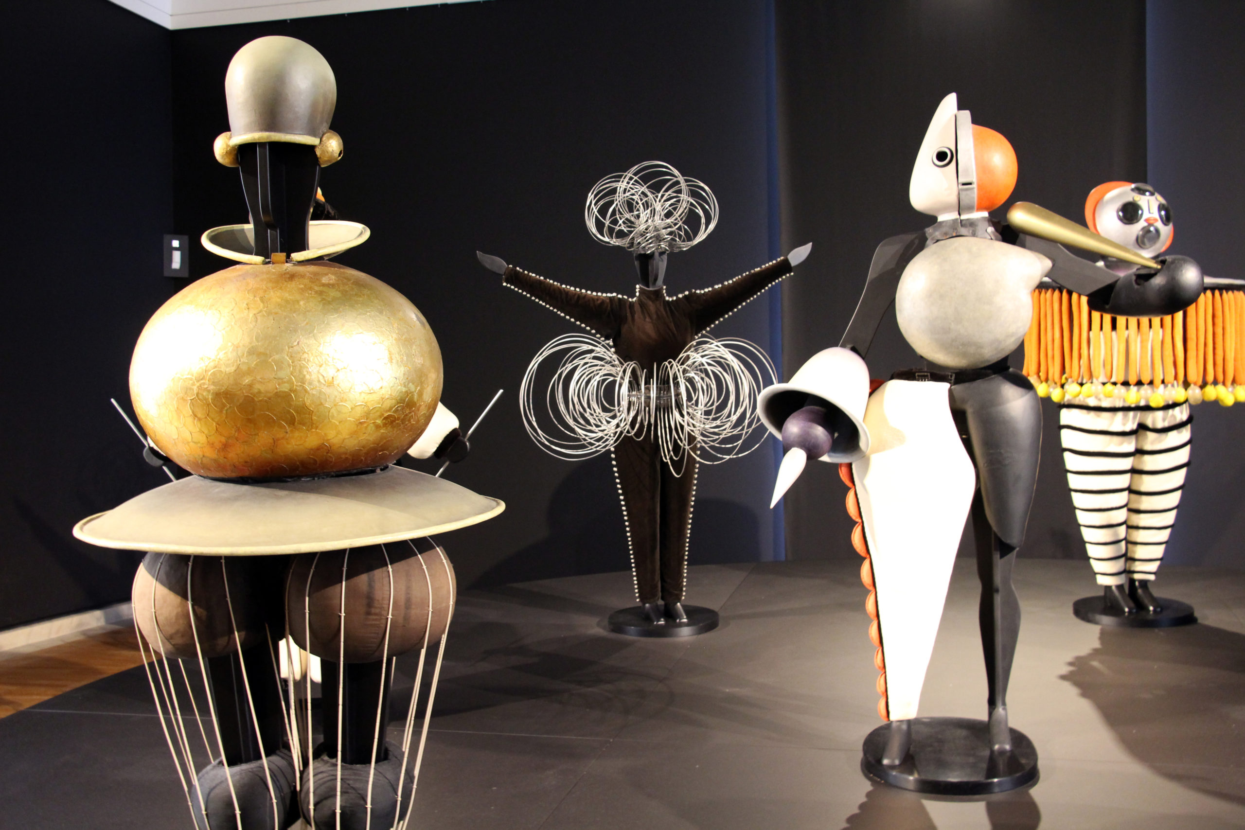 Costumes from the Triadic Ballet